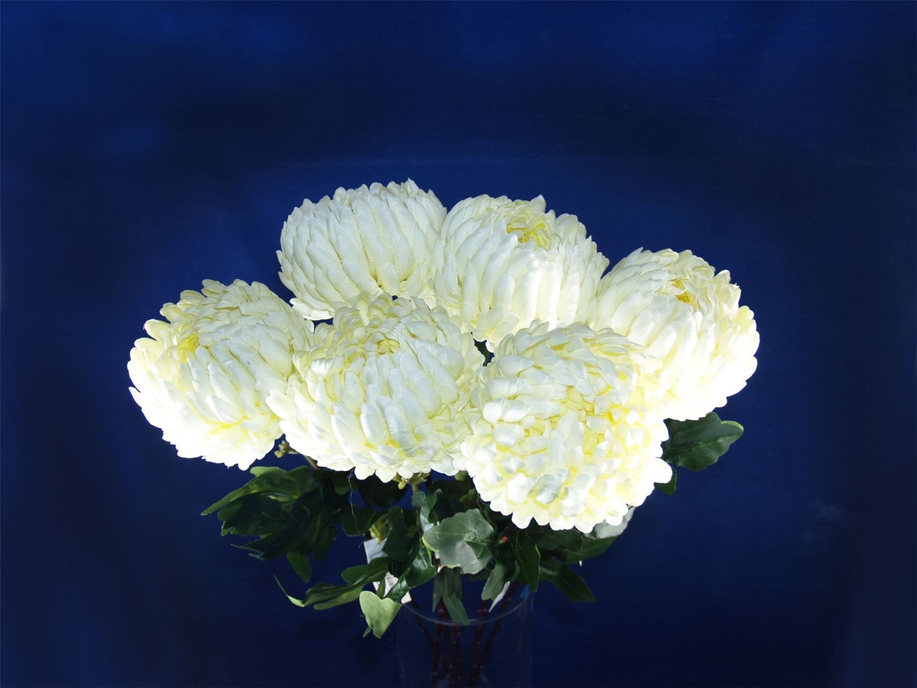 6 x single stem 80cm ball chrysanthemum artificial silk flowers 6 x single stem 80cm ball chrysanthemum artificial silk flowers white 3735 mightylinksfo