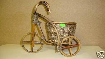 Decorative Bicycle Flower Pots, Baskets  (304)