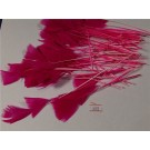14cm Feathers for Florist And Craft Cerise (3087)