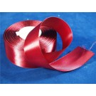 38mm x 35 yards Satin Ribbon Claret (3372)