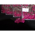 55mm Diamante Diamonte Pink 100 Pins in the box (2146)