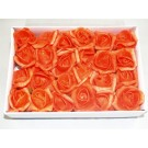 24 Foam Roses Orange Red (3528)