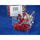 Oasis Sparkler Pin 8mm x 100 Red (2934)