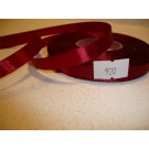 12mm x 35 yards Satin Ribbon Claret x 4 (3392)