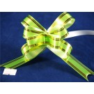 25 Poly Pull Bows Apple Green 2cm (3330)