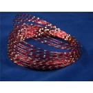 100g x 2mm Oasis Diamond Sensation Soft Aluminium Wire Red (2926)