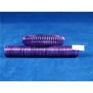 2mm Aluminium Curly Wire Purple (3195)