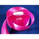 38mm x 35 yards Satin Ribbon Hot Pink (3375)