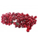 144 Holly Berries on Wire Christmas Decoration (4483)