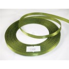 7mm x 22m Satin Ribbon x5 Reels Olive Greent (2300)