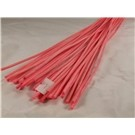 100g 3mm x 1m Rattan Sticks Pink (2717)