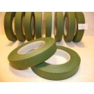 13mm x 27.43m Green Florist Floral Tape 12 Reels 903-12