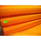 Roll Of Orange-Gold Organza 48cm x 9m (971)
