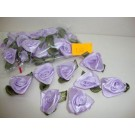 3cm Satin Ribbon Flowers Thistle (1146)